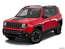 2015 Jeep Renegade Trailhawk, front angle view.