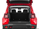 2015 Jeep Renegade Trailhawk, trunk open.