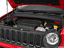 2015 Jeep Renegade Trailhawk, engine.