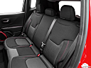 2015 Jeep Renegade Trailhawk, rear seats from drivers side.
