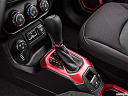 2015 Jeep Renegade Trailhawk, gear shifter/center console.