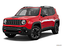 2015 Jeep Renegade Trailhawk, front angle medium view.