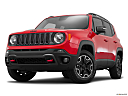 2015 Jeep Renegade Trailhawk, front angle view, low wide perspective.