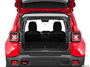 2015 Jeep Renegade Trailhawk, hatchback & suv rear angle.