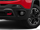 2015 Jeep Renegade Trailhawk, driver's side fog lamp.