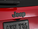2015 Jeep Renegade Trailhawk, rear manufacture badge/emblem