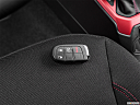 2015 Jeep Renegade Trailhawk, key fob on driver's seat.