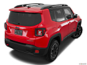 2015 Jeep Renegade Trailhawk, rear 3/4 angle view.