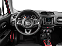 2015 Jeep Renegade Trailhawk, steering wheel/center console.