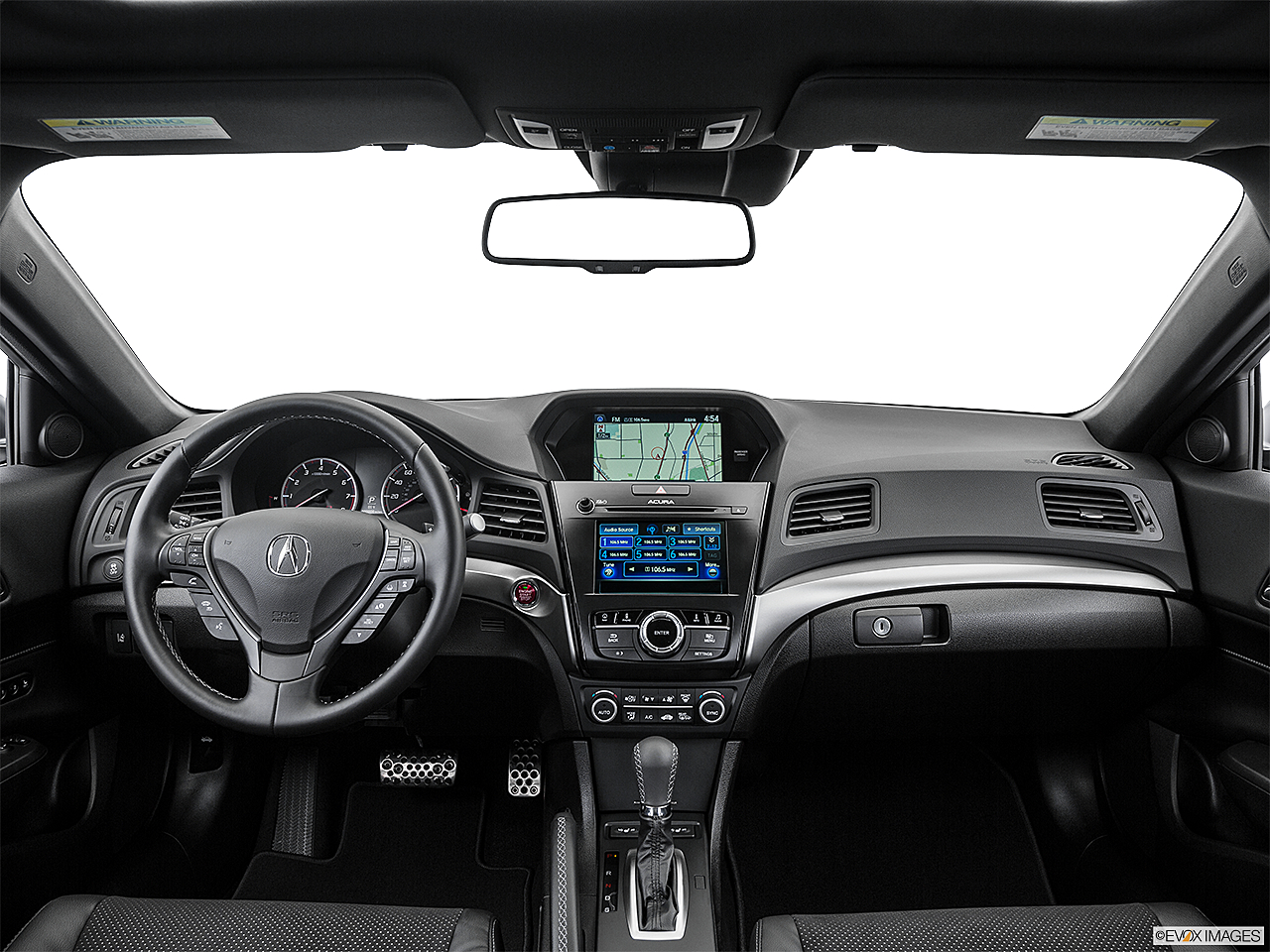 2016 Acura ILX Technology Plus and A-Spec Package, centered wide dash shot