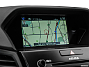 2016 Acura ILX Technology Plus and A-Spec Package, driver position view of navigation system.