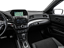 2016 Acura ILX Technology Plus and A-Spec Package, center console/passenger side.