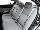 2016 Acura ILX, rear seats from drivers side.