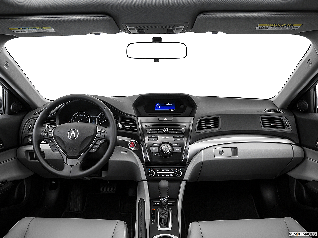 2016 Acura ILX, centered wide dash shot