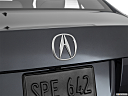 2016 Acura ILX, rear manufacture badge/emblem
