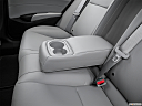 2016 Acura ILX, rear center console with closed lid from driver's side looking down.