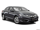 2016 Acura ILX, front passenger 3/4 w/ wheels turned.