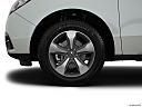 2016 Acura MDX, front drivers side wheel at profile.