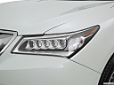 2016 Acura MDX, drivers side headlight.