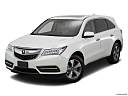 2016 Acura MDX, front angle view.