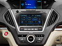 2016 Acura MDX, closeup of radio head unit