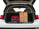2016 Acura MDX, trunk props.