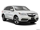 2016 Acura MDX, front passenger 3/4 w/ wheels turned.