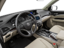 2016 Acura MDX, interior hero (driver's side).