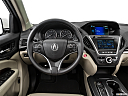 2016 Acura MDX, steering wheel/center console.