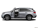 2016 Acura MDX SH-AWD, driver's side profile with drivers side door open.