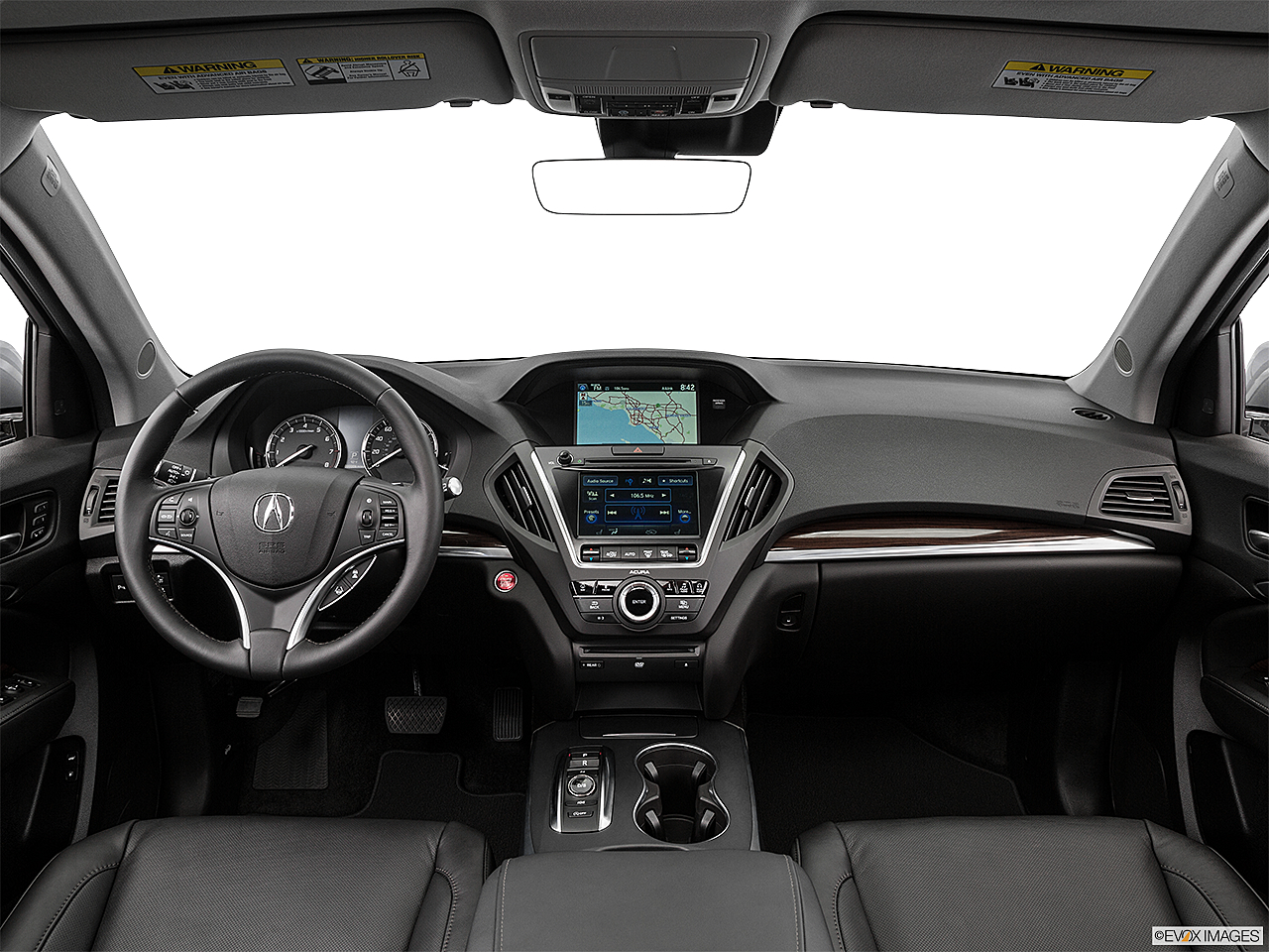 2016 Acura Mdx Sh Awd Centered Wide Dash Shot