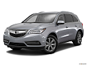 2016 Acura MDX SH-AWD, front angle medium view.