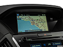 2016 Acura MDX SH-AWD, driver position view of navigation system.