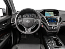2016 Acura MDX SH-AWD, steering wheel/center console.