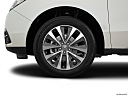 2016 Acura MDX SH-AWD, front drivers side wheel at profile.