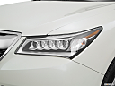2016 Acura MDX SH-AWD, drivers side headlight.