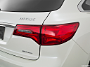 2016 Acura MDX SH-AWD, passenger side taillight.