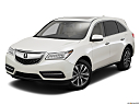 2016 Acura MDX SH-AWD, front angle view.