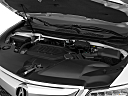 2016 Acura MDX SH-AWD, engine.