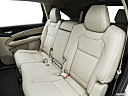 2016 Acura MDX SH-AWD, rear seats from drivers side.