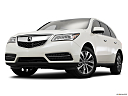 2016 Acura MDX SH-AWD, front angle view, low wide perspective.