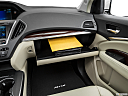 2016 Acura MDX SH-AWD, glove box open.