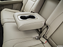 2016 Acura MDX SH-AWD, rear center console with closed lid from driver's side looking down.
