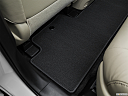 2016 Acura MDX SH-AWD, rear driver's side floor mat. mid-seat level from outside looking in.