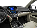 2016 Acura MDX SH-AWD, center console/passenger side.