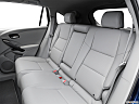 2016 Acura RDX AWD, rear seats from drivers side.