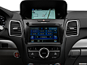 2016 Acura RDX AWD, closeup of radio head unit