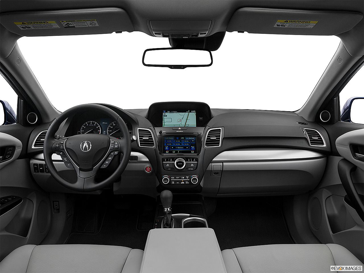 2016 Acura RDX AWD, centered wide dash shot