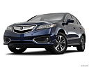 2016 Acura RDX AWD, front angle view, low wide perspective.