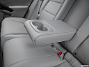 2016 Acura RDX AWD, rear center console with closed lid from driver's side looking down.